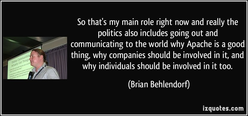 Brian Behlendorf's quote #2