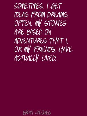 Brian Jacques's quote #1