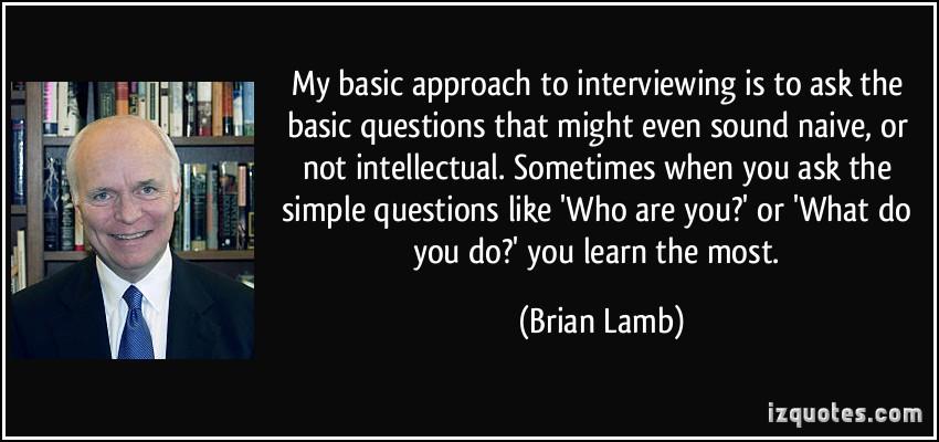 Brian Lamb's quote #5