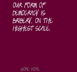 Bribery quote #1