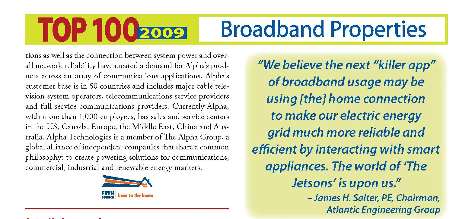 Broadband quote #1