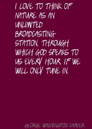 Broadcasting quote #1