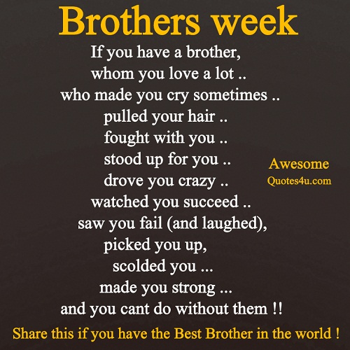 Brother quote #4