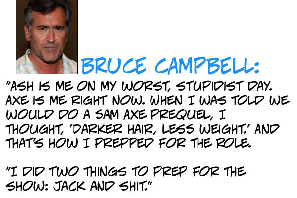 Bruce Campbell's quote #2