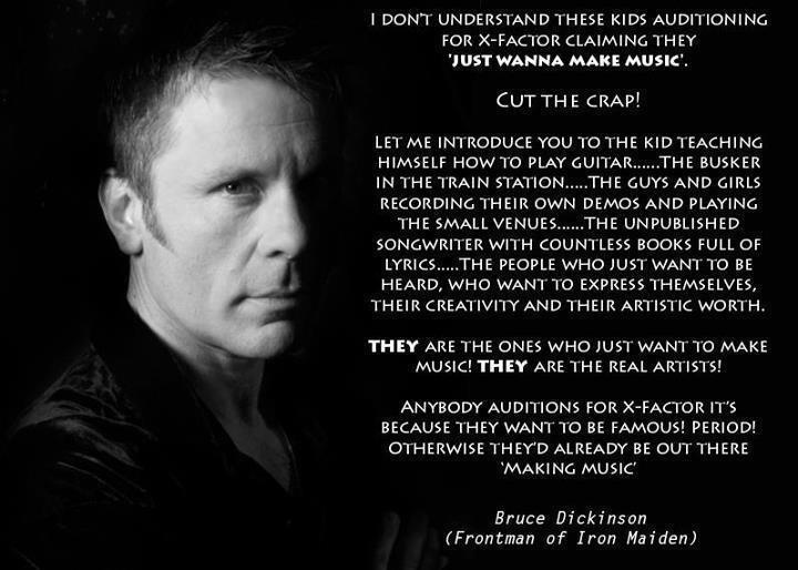 Bruce Dickinson's quote #2