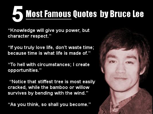Bruce Lee quote #1