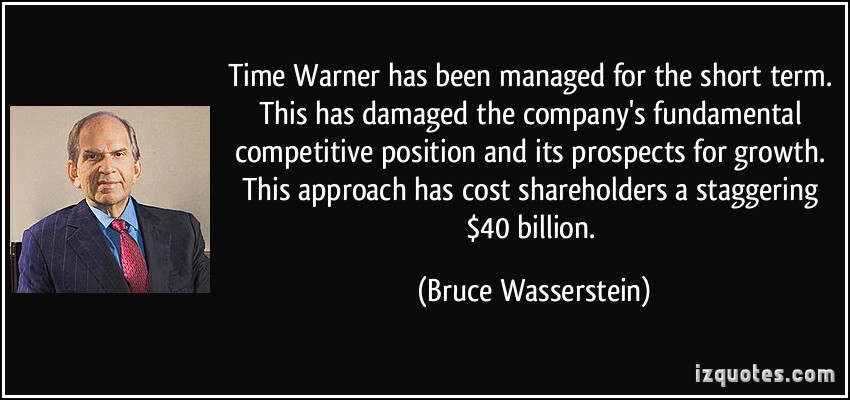 Bruce Wasserstein's quote #1
