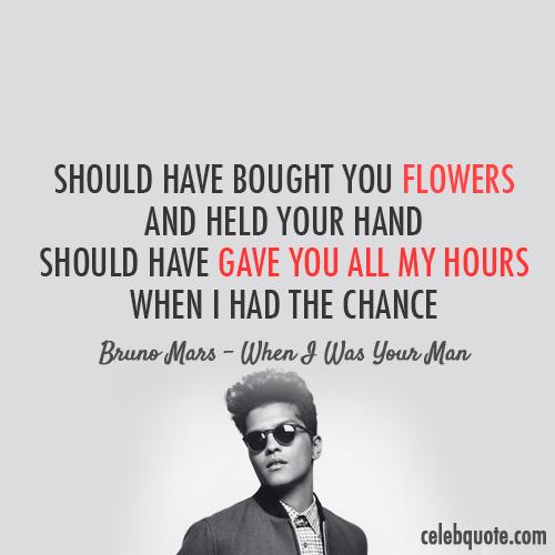 Bruno Mars's quote #1
