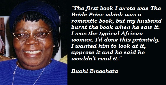 Buchi Emecheta's quote #3