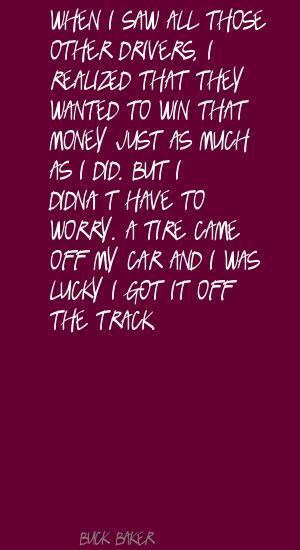 Buck Baker's quote #1