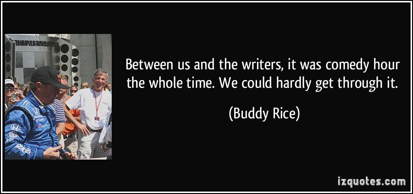 Buddy Rice's quote #1