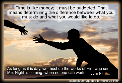 Budgeting quote #2