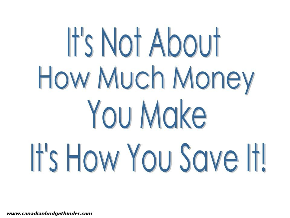 Budgeting quote #1