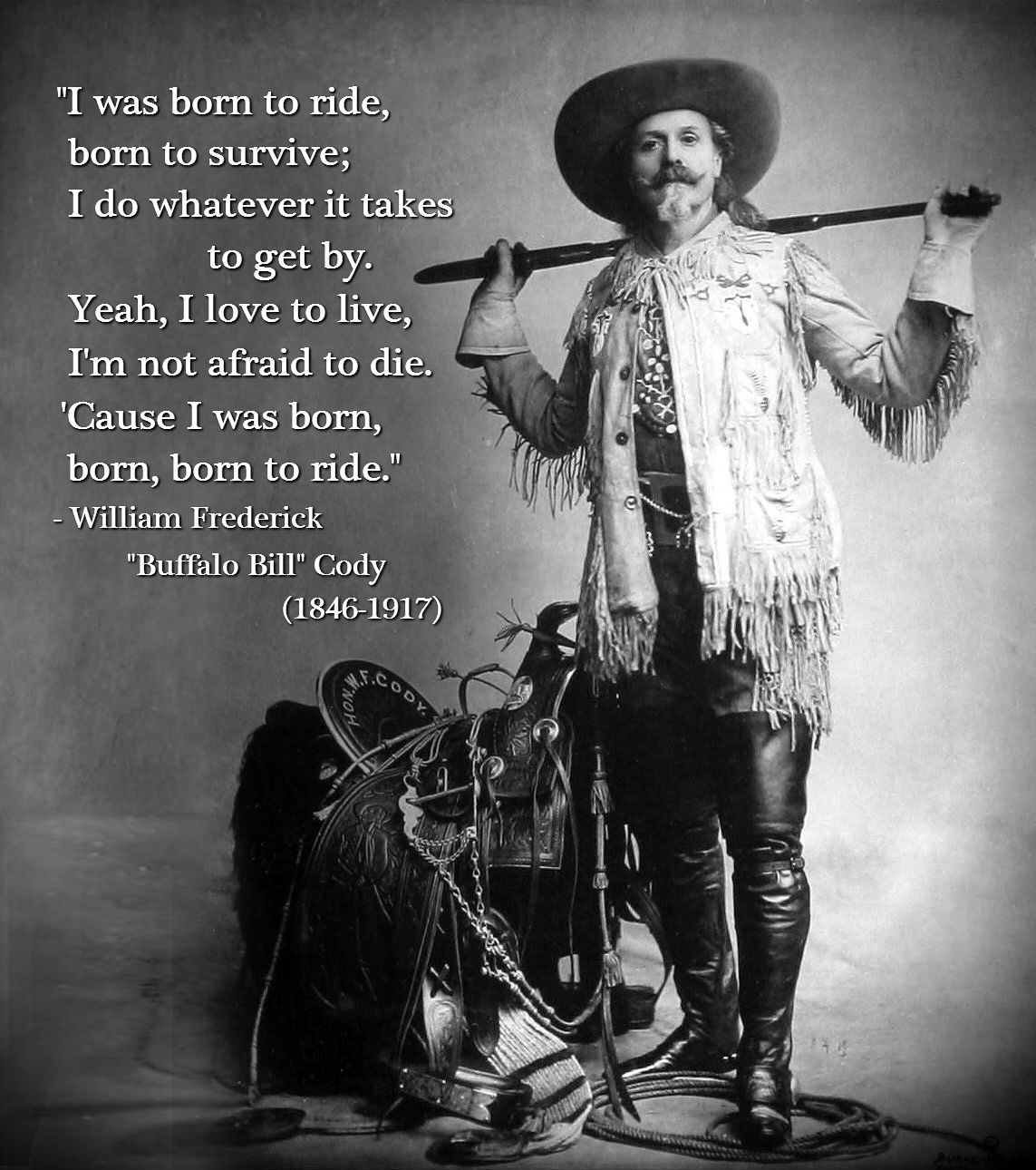 Buffalo Bill's quote #6