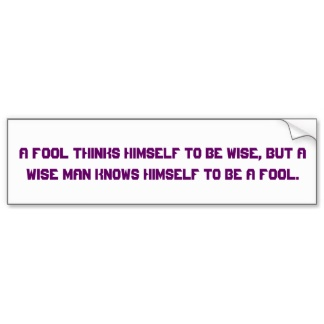 Bumper Sticker quote #2