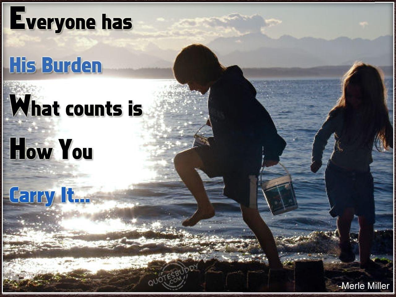 Burden quote #8