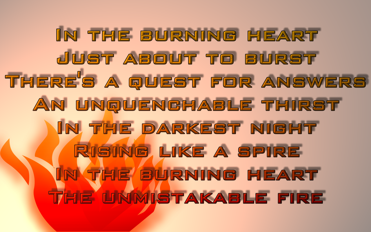 Burning quote #1