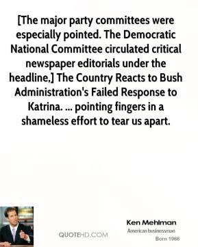 Bush Administration quote #2