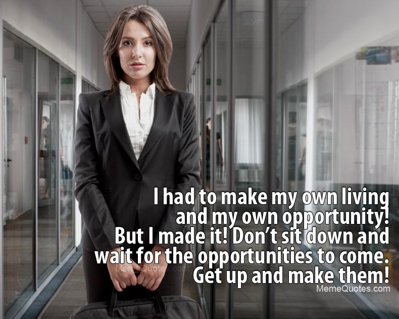 Businesswoman quote #1