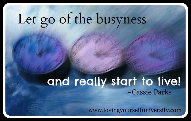Busyness quote #1