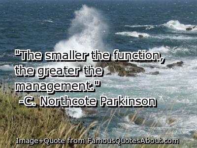 C. Northcote Parkinson's quote #4