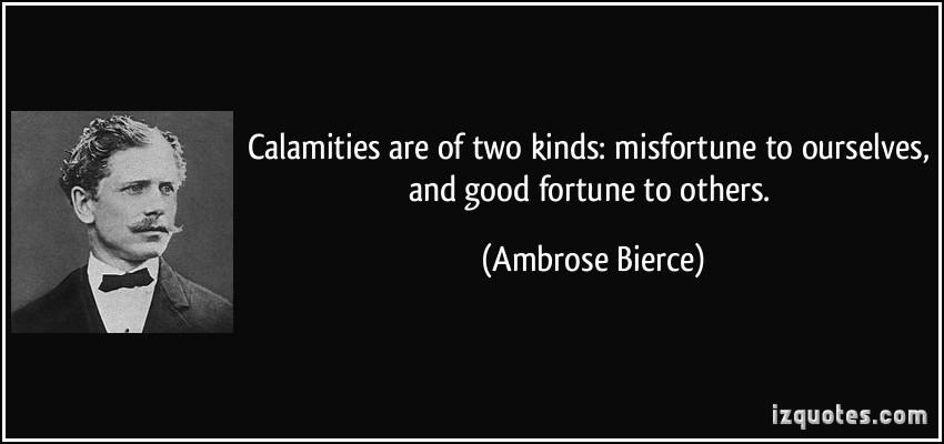 Calamities quote #2