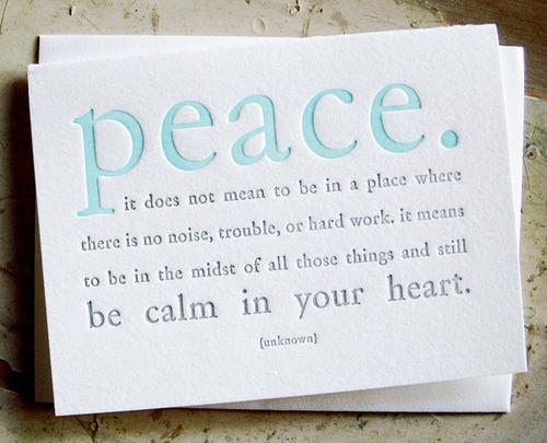 Calm quote #2