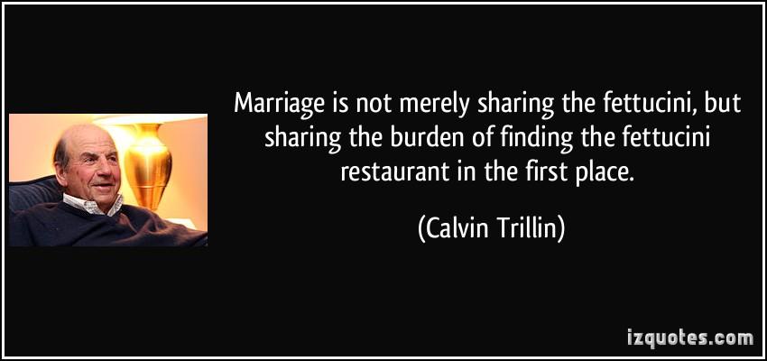 Calvin Trillin's quote #1