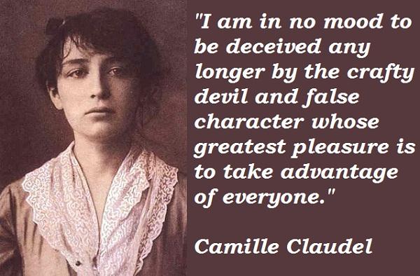 Camille Claudel's quote #1
