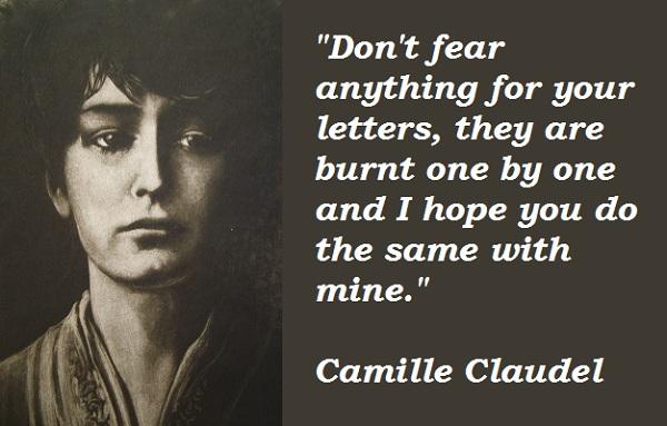 Camille Claudel's quote #2