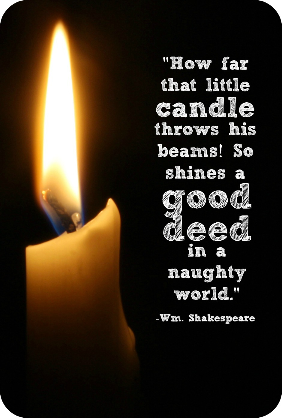 Candle quote #5