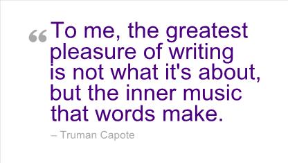 Capote quote #1