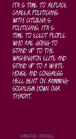 Career Politicians quote #2