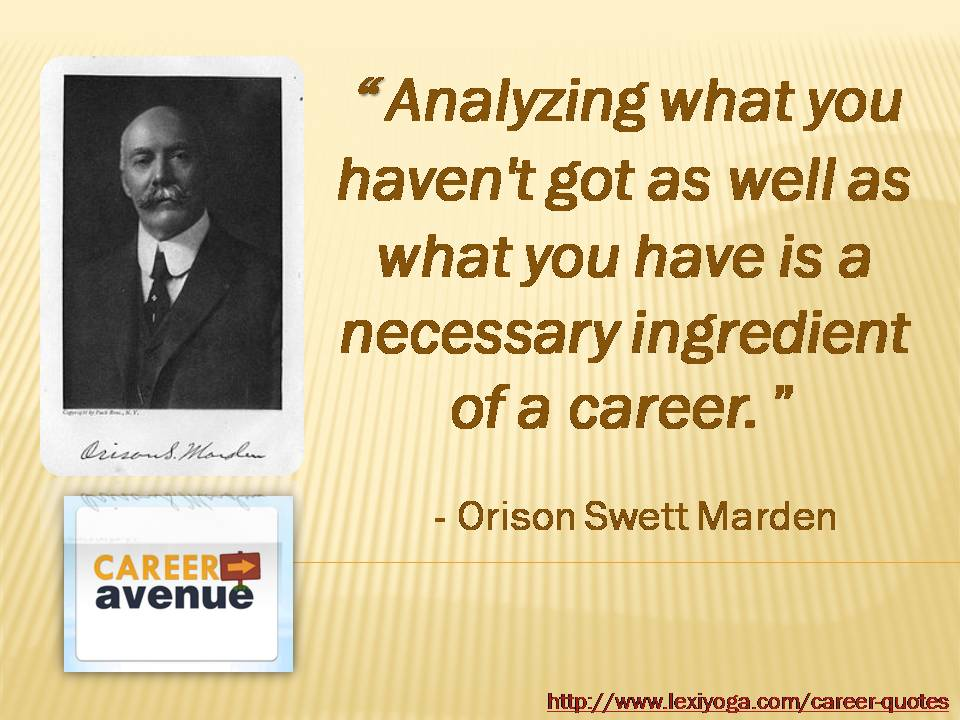 Career quote #4