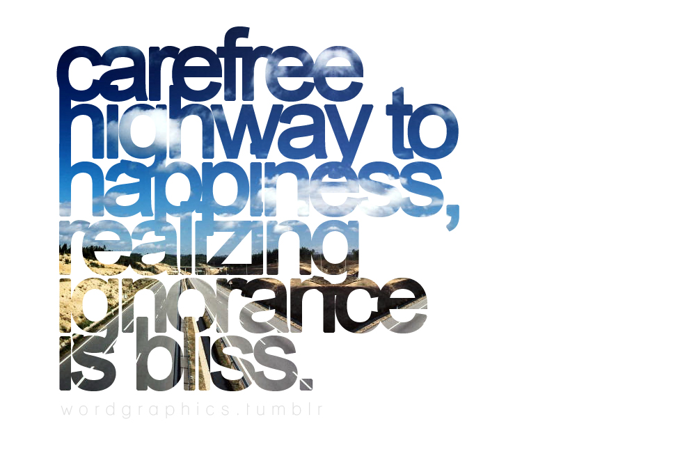 Carefree quote #2