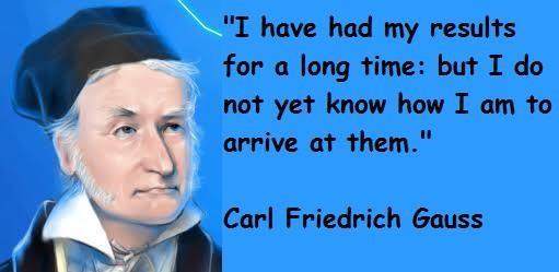 Carl Friedrich Gauss's quote #3