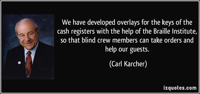 Carl Karcher's quote #5