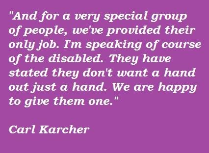 Carl Karcher's quote #3