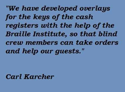 Carl Karcher's quote #1