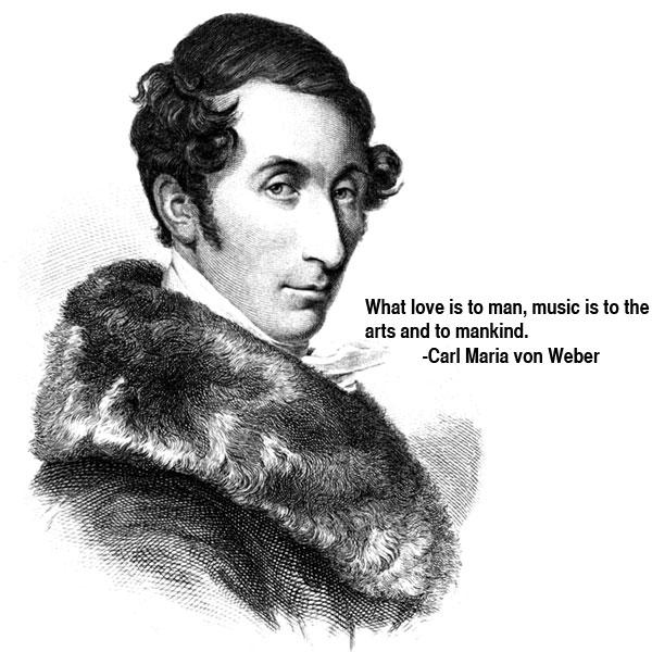 Carl Maria von Weber's quote #1