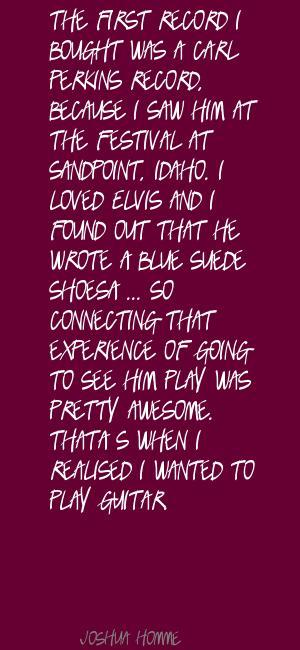 Carl Perkins's quote #2