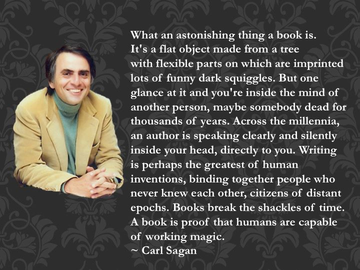 Carl Sagan's quote #8
