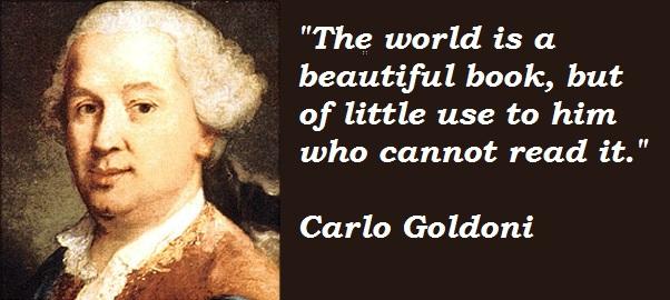Carlo Goldoni's quote #4