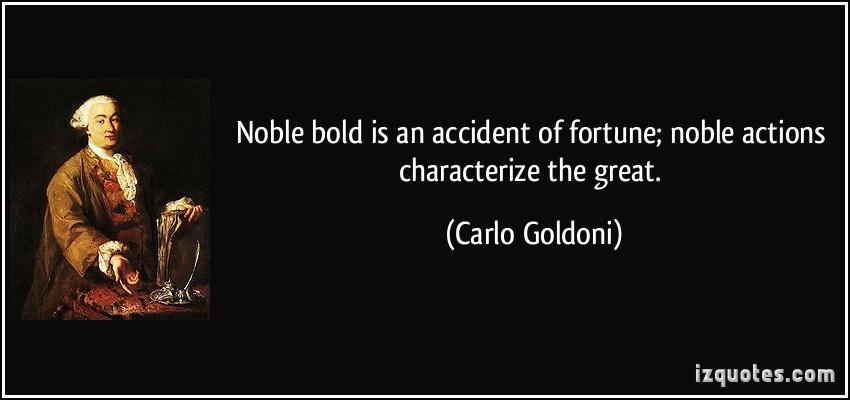 Carlo Goldoni's quote #2