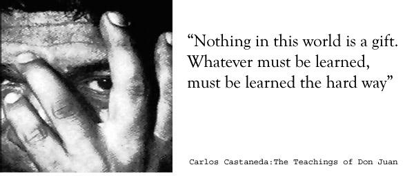 Carlos Castenada's quote #1