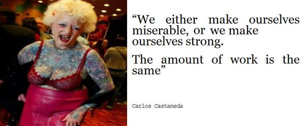 Carlos Castenada's quote #5