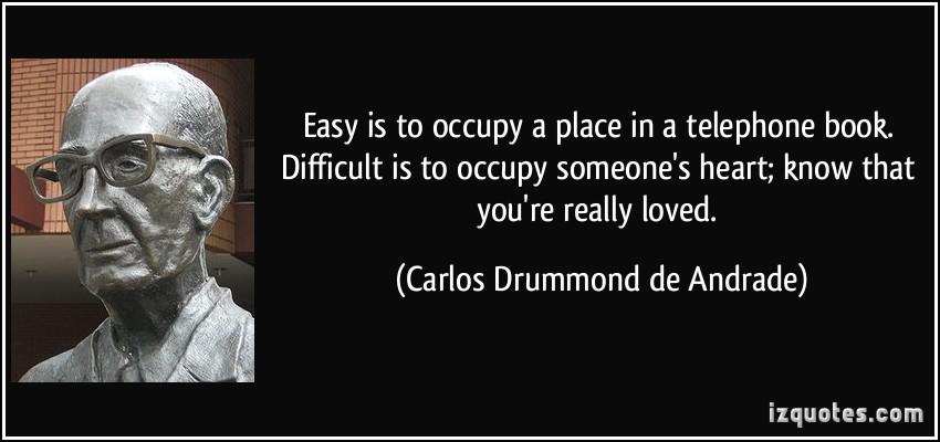 Carlos Drummond de Andrade's quote #1