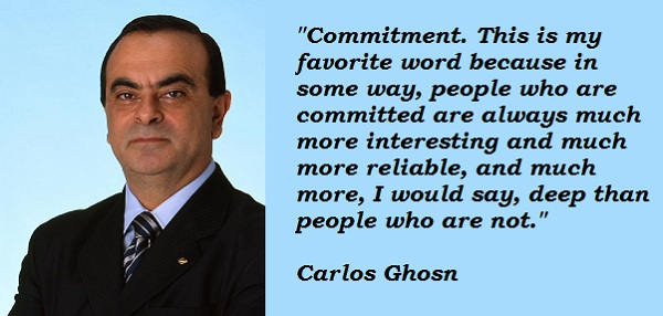 Carlos Ghosn's quote #6
