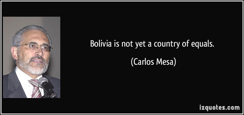 Carlos Mesa's quote #4