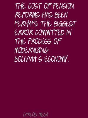 Carlos Mesa's quote #1